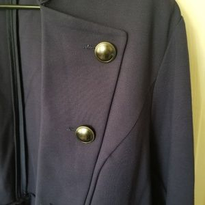 torrid Jackets & Coats - Navy Military style open front jacket -knit